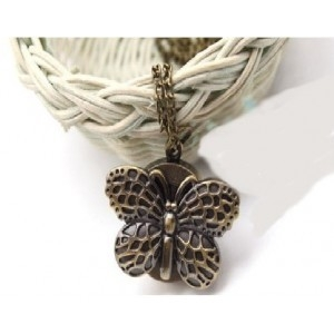 Ceas vintage Fluture cu clapa 0