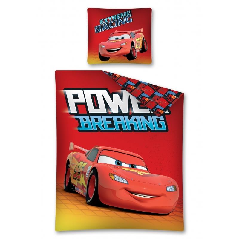 Lenjerie de pat licenta Disney CARS marime 160x200cm 1persoana