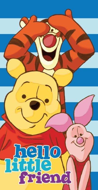 Prosop de plaja Disney Winnie The Pooh  100% bumbac 70x140 cm