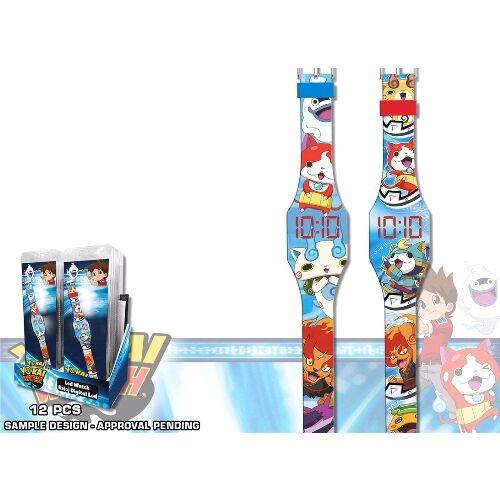 Ceas de mana digital pe LED Yo Kai Disney