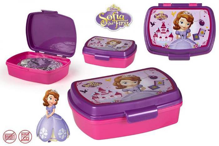 Cutie sandwich pentru copii  Sofia Gama Disney