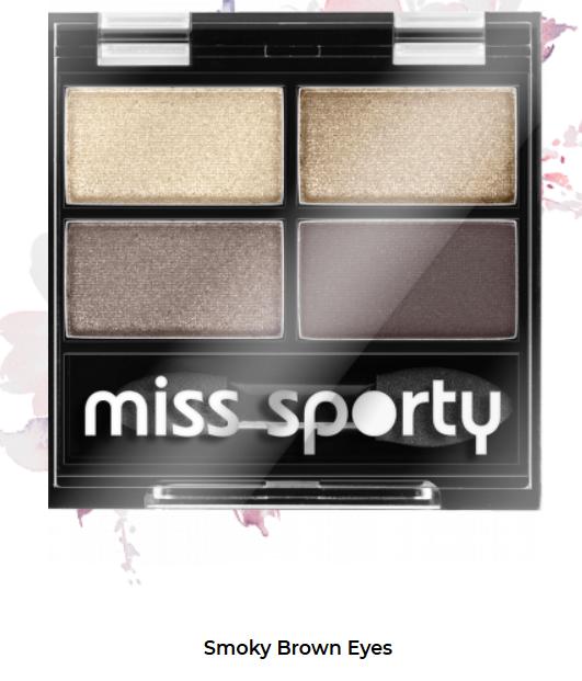 Fard de ochi Studio Color Quattro Eyeshadow Miss Sporty