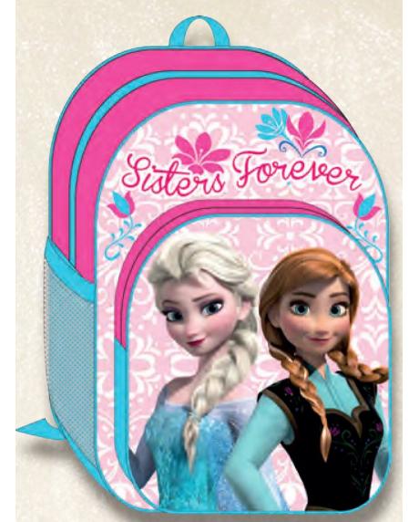 Ghiozdan copii scoala Disney Frozen Anna si Elsa