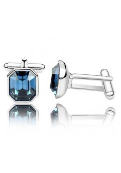 Butoni medii BLUEINK cu cristale swarovski