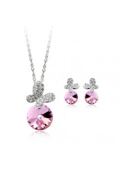 Set bijuterii ANGEL DROP cu cristale swarovski