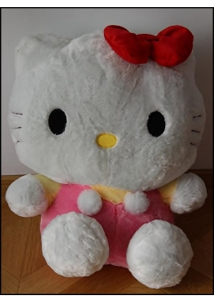 Hello Kitty roz din plus