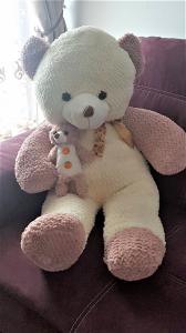 Jucarie de plus, Urs mare in 2 culori, cadoul ideal pentru cei mici si cei mari