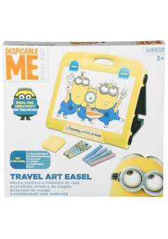 Joc educativ Minions travel art easel