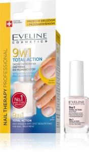 Tratament pentru unghiile piciorului Eveline 9in1 Total Action 12 ml